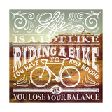 Bike Giclee Print by Cory Steffen
