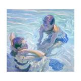 Turquoise Pool Giclee Print by John Asaro