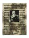 Principals of Music-Handel Giclee Print by Susan Hartenhoff