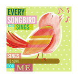 Dream Every Day - Songbird Giclee Print by Cory Steffen
