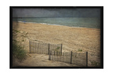 Beach at Dusk Print by Lillis Werder