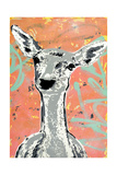 Fawn Prints by  Urban Soule