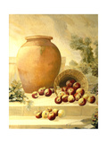 Urn with Apples Giclee Print by Hampton Hall