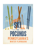 Pocono Premium Giclee Print by Cory Steffen