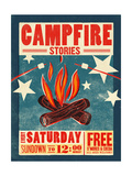 Campfire Giclee Print by Cory Steffen