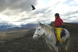 Gaucho and Condor Natales Chile Photo by Ross Gordon