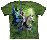 Anne Stokes- Realm Of Enchantment T-shirts