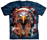 Orlando Baca- Native Patriot Eagle T-skjorter