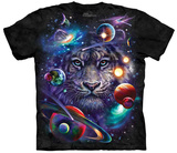 Tami Alba- White Tiger Cosmos T-skjorte