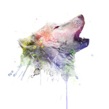 Wolf Metal Print by  VeeBee