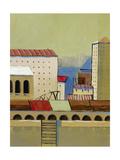Inner Harbour 4 Premium Giclee Print by Ben Gordon