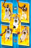 NBA: Golden State Warriors- Team 16 Prints