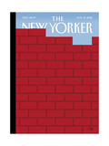 The New Yorker Cover - November 21, 2016 Regular Giclee Print by Bob Staake