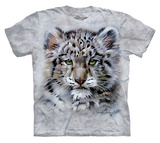 Youth: Verdayle Forget- Baby Snow Leopard T-Shirt