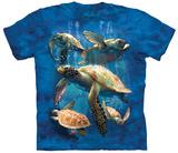 David Penfound- Sea Turtle Family T-Shirts