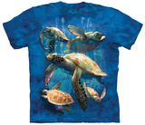 David Penfound- Sea Turtle Family T-Shirt
