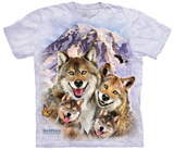 Howard Robinson- Wolf Family Selfie T-shirts