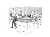 """""""One more—Billy wasn't crying.""""  - New Yorker Cartoon Giclee Print by Robert Leighton"""