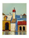 Inner Harbour 3 Premium Giclee Print by Ben Gordon