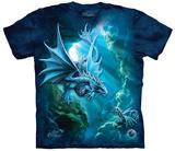 Anne Stokes- Sea Dragon T-skjorte
