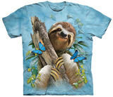 Howard Robinson- Sloth & Butterflies Shirts