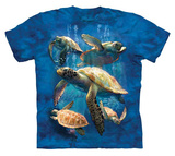 Youth: David Penfound- Sea Turtle Family T-shirts