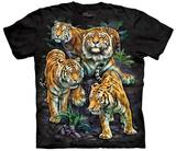 Tami Alba- Bengal Tiger Collage Shirts