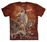 Youth: Antonia Neshev- Red Glow Wolf Shirt