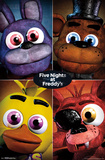 Five Nights At Freddy's- Character Grid Poster