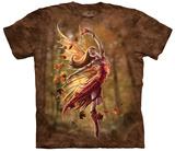 Anne Stokes- Autumn Fairy T-skjorte