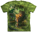 Mark Fredrickson-Enchanted Tiger T-skjorte