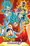 Dragon Ball Z: Resurrection F- Power Trio Prints