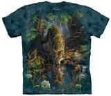 Mark Fredrickson- Enchanted Wolf Pool T-skjorte