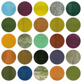 Rustic Rounds 4.0 Wall Mural by Michelle Calkins