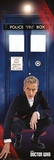 Doctor Who- Tardis And Doctor Plakat