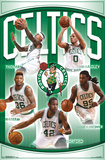 NBA: Boston Celtics- Team 16 Prints