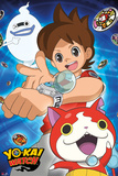 Yo-Kai Watch- Trio Poster