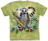 Youth: Howard Robinson- Lemur & Butterflies T-Shirts