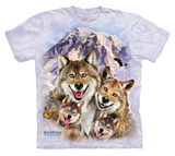 Youth: Howard Robinson- Wolf Family Selfie Shirts