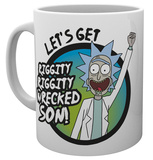 Rick & Morty - Wrecked Mug Mug