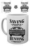 Supernatural - Hunting Things Mug Mug