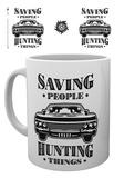 Supernatural - Hunting Things Mug Taza