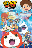 Yo-Kai Watch- Key Art Stampe