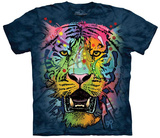 Dean Russo- Tiger Face T-shirts