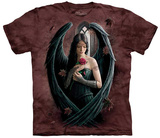 Anne Stokes- Angel Rose T-skjorter