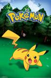 Pokemon- Wild Pikachu Print