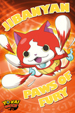 Yo-Kai Watch- Paws Of Fury Plakater