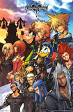 Kingdom Hearts- Heroes & Villians Prints