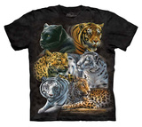 Youth: Rebecca Latham- Big Cats T-Shirt