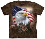 D. Neshev- Independence Eagle T-skjorte